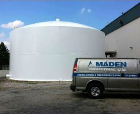 Sandblasting and Painting Maden Industrial